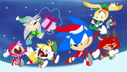 A Super Sonic Christmas Time by jacobyoung94