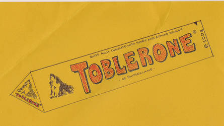 Toblerone Chocolate Box by SpencerGirl