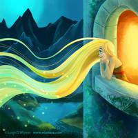 Rapunzel by LouisDavilla