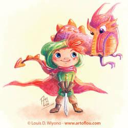 Dragon Boy by LouisDavilla