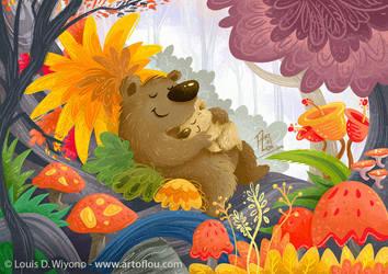 Sleeping Bears by LouisDavilla