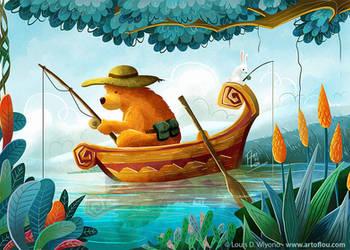 Gone Fishin'! by LouisDavilla