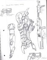 Advanced Infantry Armor by Dual-Dragon-005