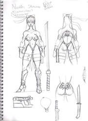 Gatorchas's Neith Sketches by Dual-Dragon-005
