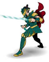 Elf Royal Champion  by UbiquitousPixel