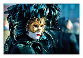 Venetian masks 7 by flemmens