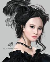 Liu Yi Fei Portrait by Chibi-Jennifer