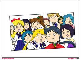 Sailor Moon Oscar Selfie Parody by Chibi-Jennifer