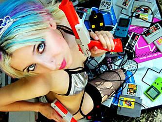 Nintendo Girl by floziskira