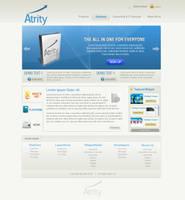 Branding:: Web2.0 Landing Page by princepal