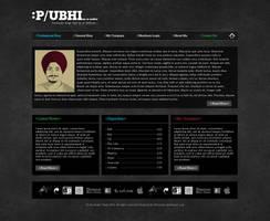 Developer Portfolio by princepal