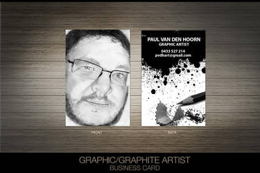 Graphic Artist Business Card by princepal