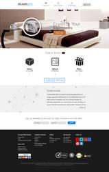 Flat UI for www.3dlasergifts.com by princepal