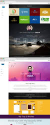 Prince Pal - UI / UX / Branding Portfolio Website by princepal