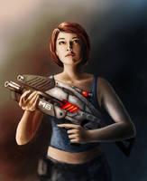 Commander Shepard by CELENG