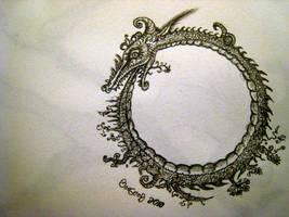 Dragos Ouroboros by boegeob