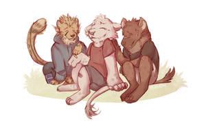Summer Vacation by hyenamoxie