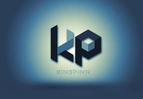 Dj Kingpinn Logo by BrettUK