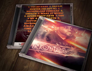 NoTrace cd mock up by BrettUK