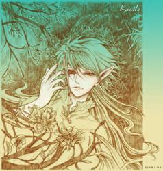 Dreams of a half-demon Elf by princess-aki