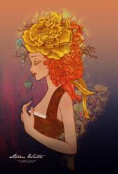 . fleur ange . by princess-aki