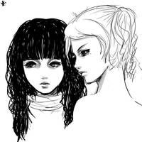girls side . A by princess-aki