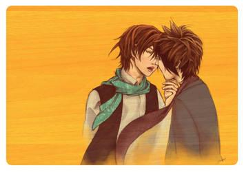 . orange in the summer . by princess-aki
