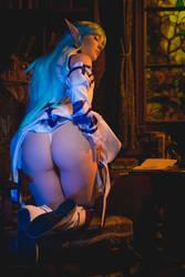 Asuna Booty by Foxy-Cosplay