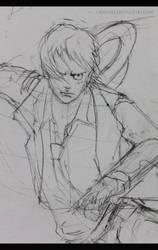 Luffy part 2 by CrisNoel