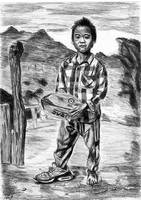 Kid from Thailand by grini