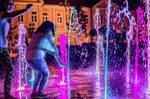 Water and lights by grini