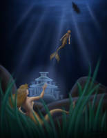 Typical Mermaid Curiosity by GeekingOutArt