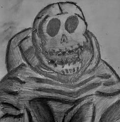 Skull Servant Handrawn by lunartail