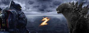 Pacific Rim 2 Godzilla 2014 by GamerZzon