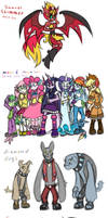 MLP FIM Sonic style 6 by HoshiNoUsagi