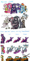 MLP FIM Sonic style 13 by HoshiNoUsagi