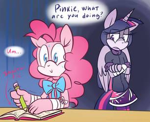 Pinkie, you're Shipping Trash! by HoshiNoUsagi
