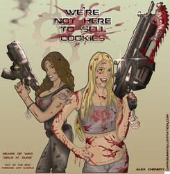 Girls and Guns by D-B-Dot-Com