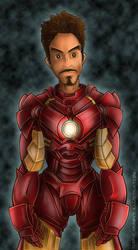 Iron Man by D-B-Dot-Com