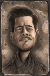 Brad Pitt - Inglorious by D-B-Dot-Com