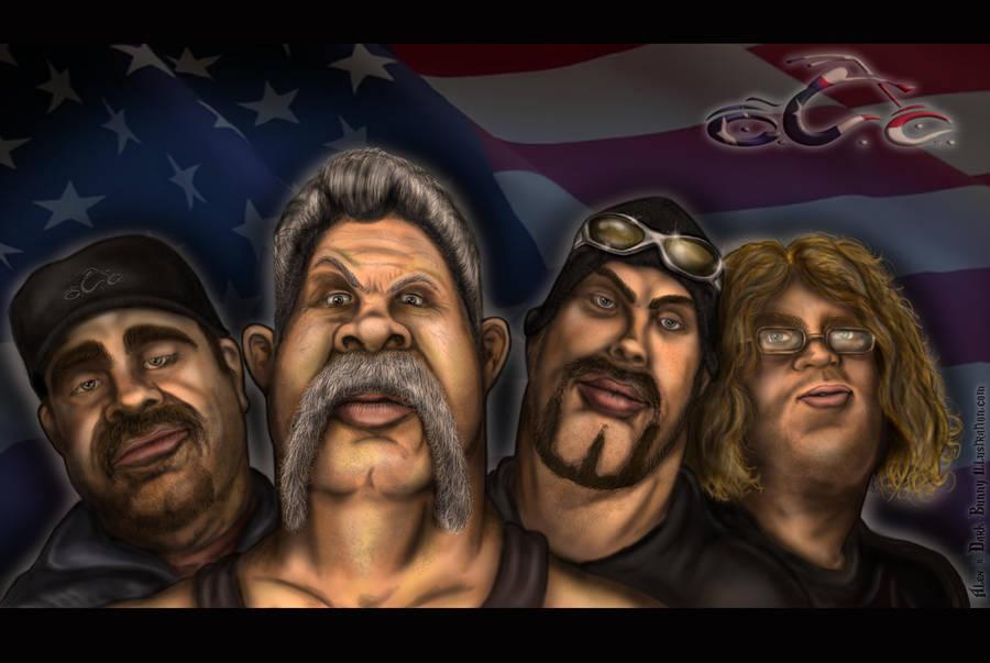 American Chopper - OCC crew by D-B-Dot-Com