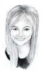 Agnes Monica by Adrahkinam