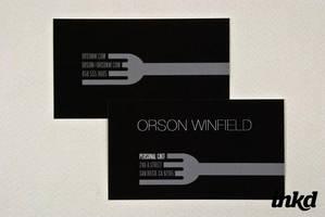 Sleek Personal Chef Business by inkddesign