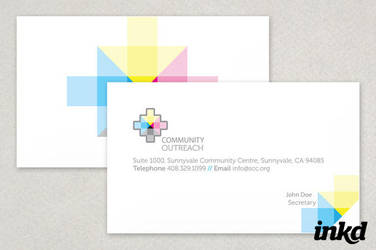 Community Outreach Card by inkddesign