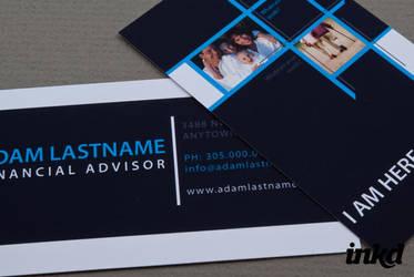 Financial Advisor Business by inkddesign