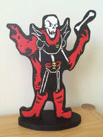 Wooden underfell papyrus by lRanl