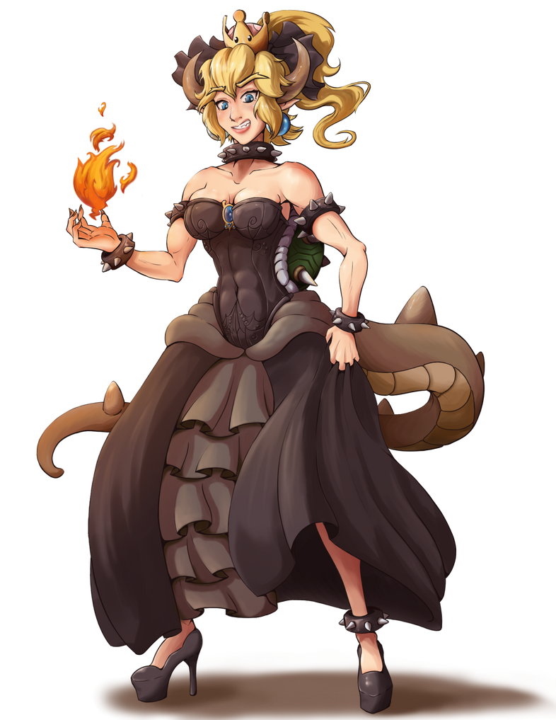 My take on Bowsette by Yukas-Armstrong