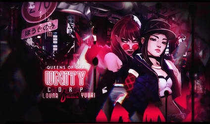 Queen's of Gfx .feat S.Yuuki [UnityCorp] by LouNaART