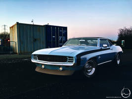 1969 Chevrolet Camaro SS Coupe by melkorius