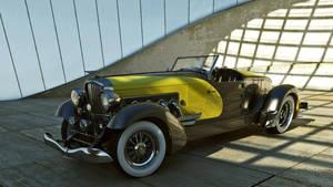 1933 Duesenberg SJ Speedster by melkorius